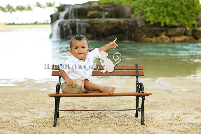 Hawaii Baby Photo