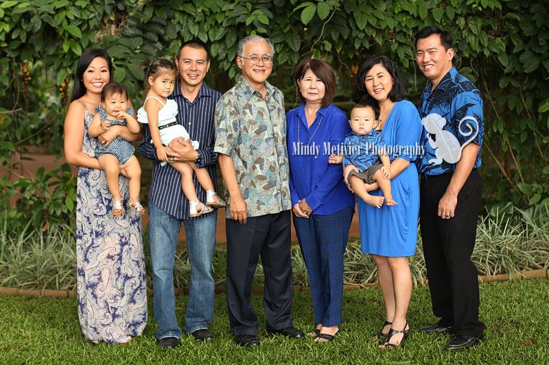 Hawaii Family Photo Mindy Metivier