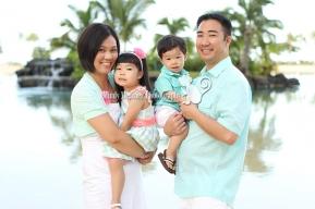 Oahu Hawaii Family Photo Mindy Metivier