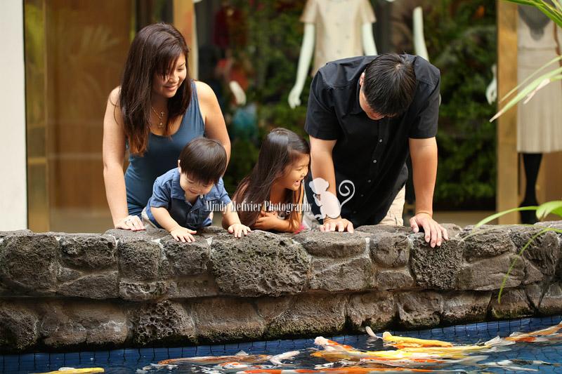 Oahu Hawaii Family Photo