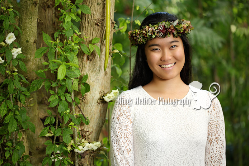 Honolulu Hawaii Senior Photo Mindy Metivier
