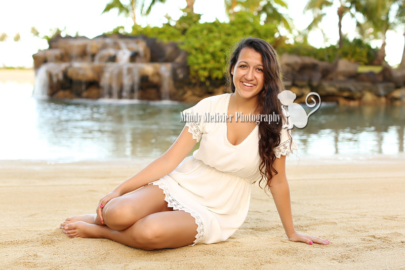 Honolulu Oahu Hawaii Senior Photo Mindy Metivier