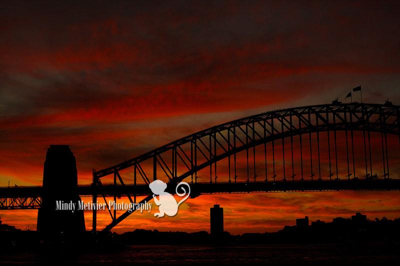 Syndey Harbor Bridge Australia Mindy Metivier Photo