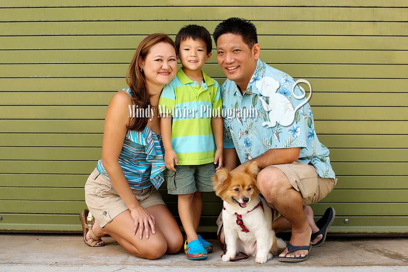 Honolulu Oahu Hawaii Family Photo Mindy Metivier