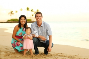 Honolulu Oahu Hawaii Family Children Photo Mindy Metivier